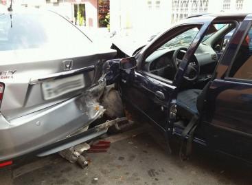 Motorista embriagado causa acidente na Rua Luiz Scavone