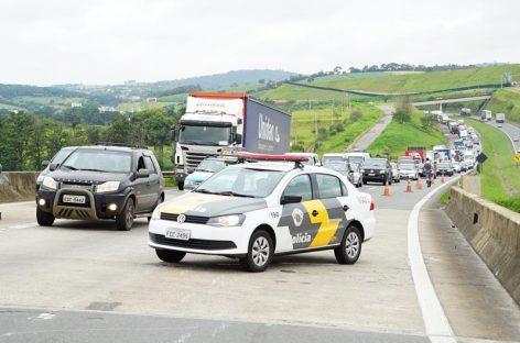 Número de mortes em rodovias paulistas no feriado de Páscoa cai 25%