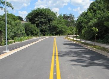 Entregue nova Avenida Anesio Fassina