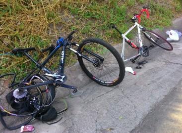 Ciclista atropelado na Rod. Itatiba – Jundiaí recebe alta médica