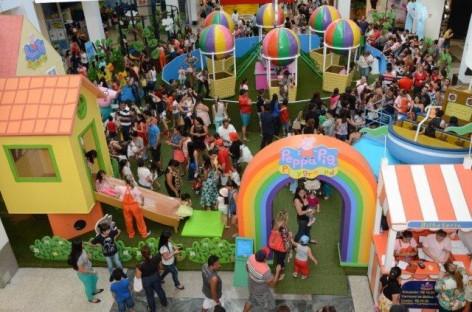 Peppa Pig Playground chega sábado ao Campinas Shopping