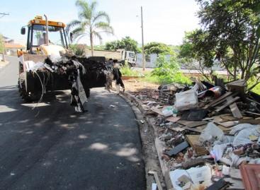 Quatro bairros de Itatiba recebem a primeira Ação de Limpeza