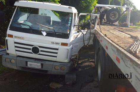 Motorista fica gravemente ferido em colisão na Itatiba – Louveira