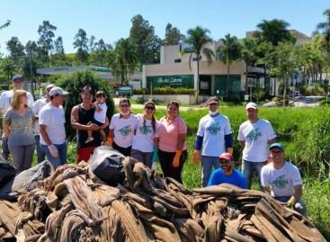 Associação JAPPA realiza limpeza das margens do Ribeirão Jacaré