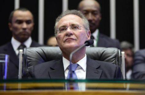 Renan se reúne com Eunício para discutir rito do impeachment no Senado