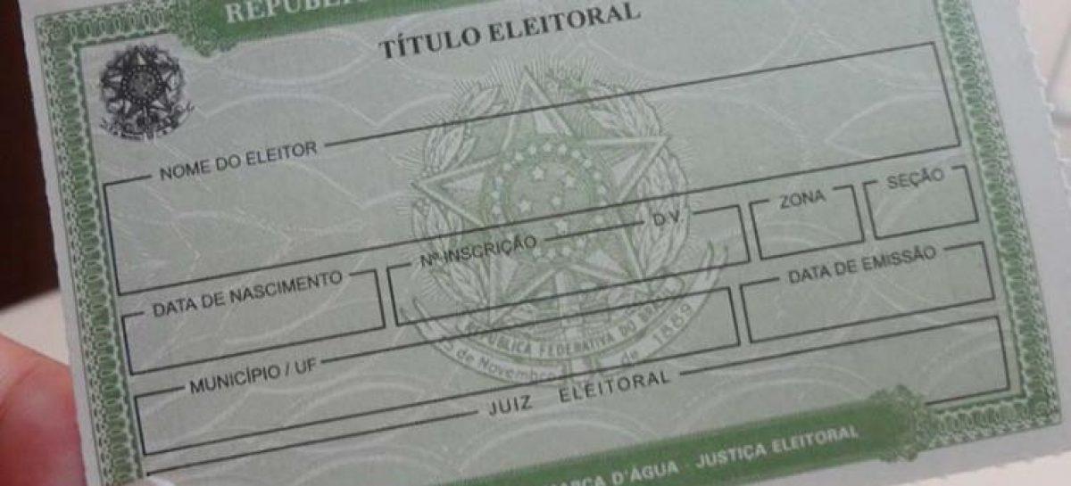 Título de eleitor ganha novo formato em São Paulo