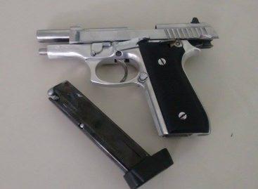 PM prende homem por porte ilegal de arma de fogo em festa no Moenda