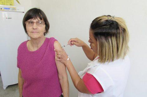 Prorrogada até o dia 31 a Campanha de Vacinação Contra a Gripe