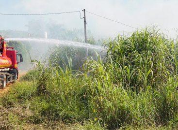 Imprudências continuam: fogo em mato quase atinge casa em Itatiba nesta sexta-feira (13)