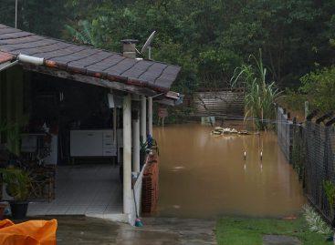 Itatiba recebe 132,4 mm de chuva em três dias