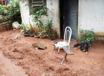 Apesar de chuvas moderadas, famílias de Itatiba novamente sofrem prejuízos