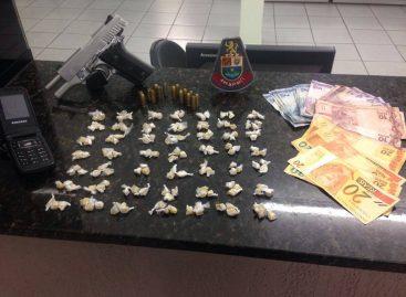 PM flagra traficante no Bairro Pedro Costa na madrugada desta quarta-feira (29)