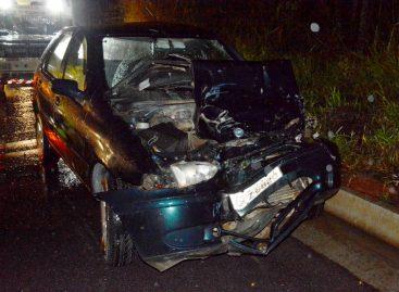 Ônibus e carro batem de frente e dois ficam feridos na Itatiba – Morungaba