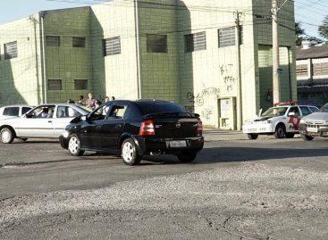 Falta de sinalizações no Jardim Virgínia provoca acidentes de trânsito