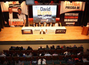 David Bueno lança oficialmente sua candidatura a prefeito de Itatiba