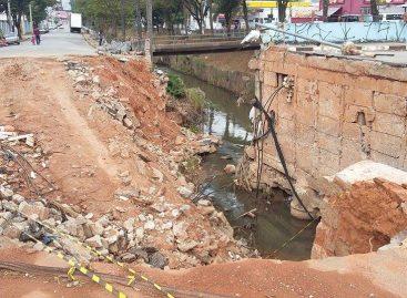 Construções de pontes sobre o Ribeirão Jacaré devem começar em menos de 15 dias