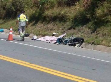 Motociclista morre após colidir com caminhão na Itatiba-Morungaba