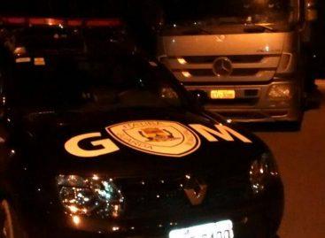 Caminhão roubado em Atibaia é recuperado pelo GAP de Itatiba
