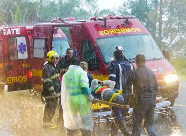 Quatro pessoas ficam feridas em acidente na Itatiba – Morungaba