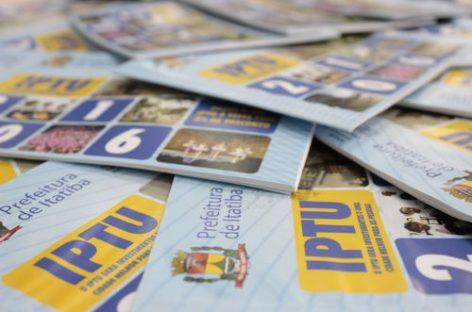 Primeira parcela do IPTU vence em março