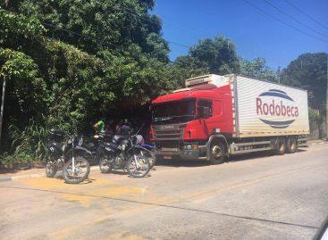 GM de Itatiba recupera caminhão frigorífico com carnes após ser roubado