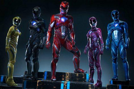 Power Rangers, estreia sexta-feira nos cinemas