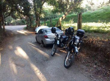 Criminosos invadem casa e fazem reféns no Terras de São Sebastião; GM recupera carro roubado