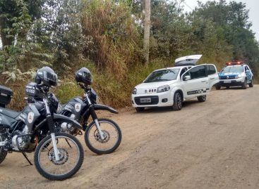 Equipes da GM de Itatiba recuperam carro roubado uma hora após o crime