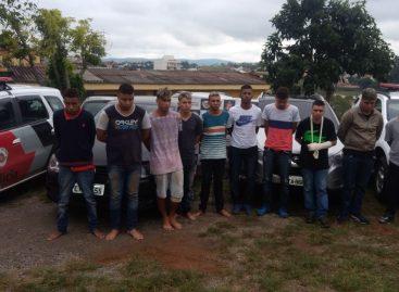 Forças de Segurança de Itatiba prendem 10 criminosos em roubo