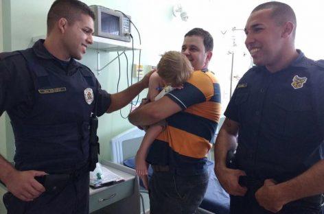 Guardas Municipais de Itatiba socorrem criança com parada respiratória no San Francisco