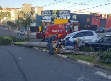 Motorista quase atropela bombeiros em Itatiba