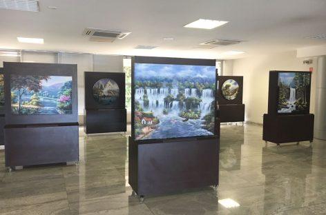 Itatiba recebe exposição do artista plástico Floberto Borges