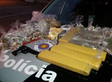 PM prende criminoso com carro roubado e mais de 20 kg de drogas no Bairro San Francisco