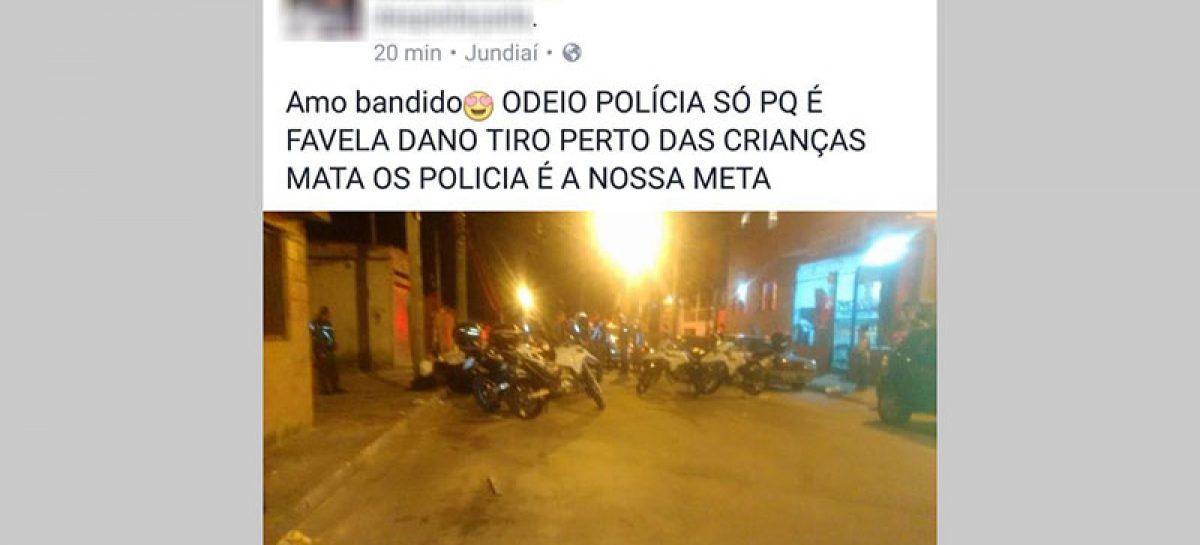 Mulheres são detidas em Jundiaí por apologia ao crime no Facebook