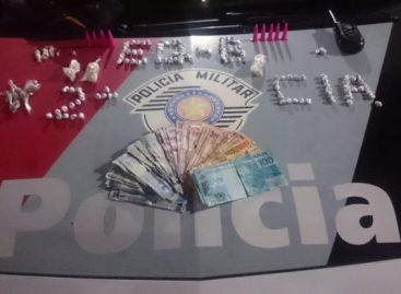 PM de Itatiba prende traficante no João Maggi