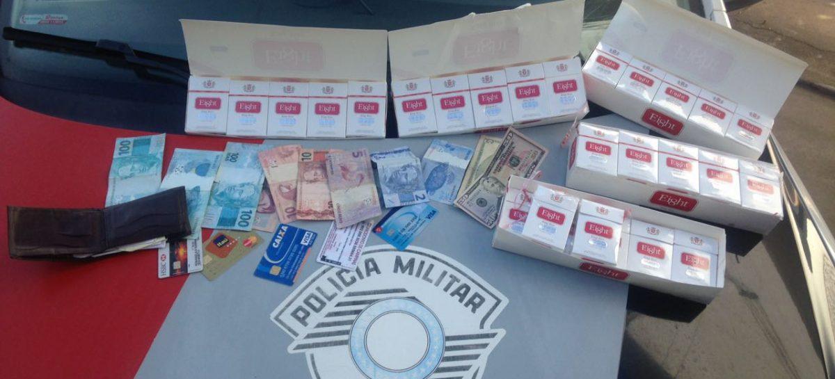 Libanês com cigarros contrabandeados é preso em Itatiba