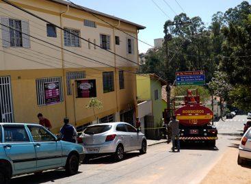 Homem é preso em flagrante por incendiar a própria casa