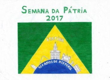 Semana da Pátria ganha logomarca que homenageia os 160 anos de Itatiba