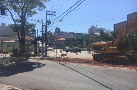 Obras alteram trânsito nas principais avenidas de Itatiba