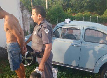 PM de Itatiba recupera Fusca furtado