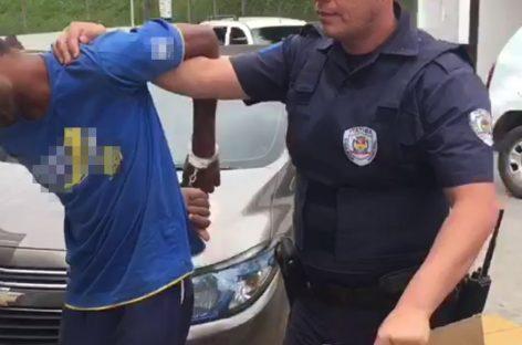 Ladrão é preso após tentar roubar e agredir senhora de 74 anos em Itatiba