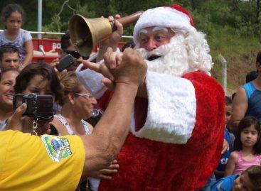 Chegada do Papai Noel em Itatiba será dia 3 de dezembro