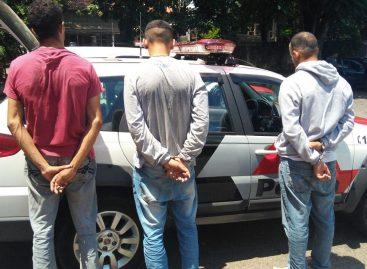 PM prende três em Morungaba e recupera carro furtado de Itatiba