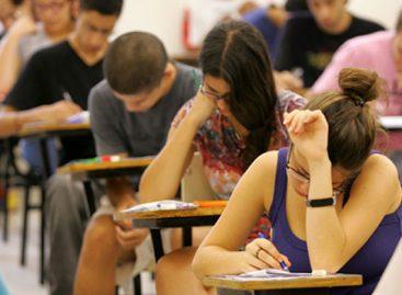 Estudantes se preparam para as provas do Enem 2017