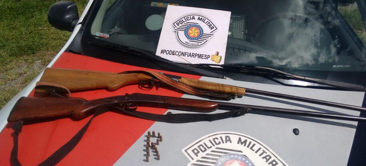 Homem é detido com arma de fogo e munições em Itatiba -SP