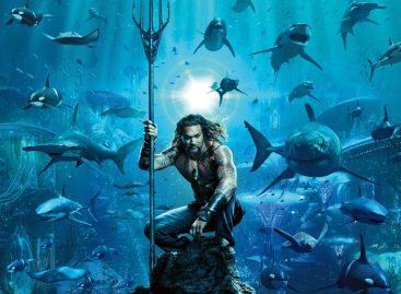 Aquaman nas telonas