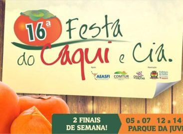 16ª Festa do Caqui: Secretário de Cultura e Turismo fala sobre os preparativos