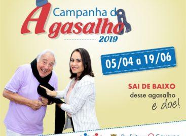 Campanha do Agasalho 2019 é lançada na tarde desta sexta-feira
