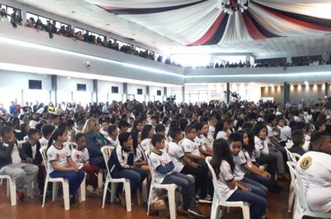 Mais de 600 alunos participaram da Formatura do PROERD em Itatiba
