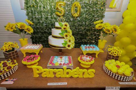 EMEB Maria Mercedes comemora 50 anos de fundação